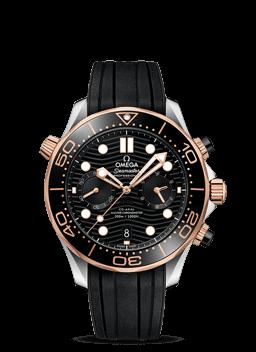 300米潜水表 欧米茄同轴至臻天文台计时腕表44毫米 - 210.22.44.51.01.001