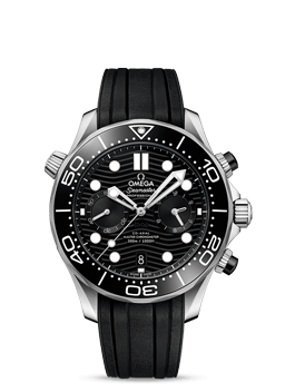 300米潜水表 欧米茄同轴至臻天文台计时腕表44毫米 - 210.32.44.51.01.001