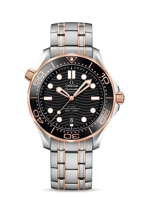 Seamaster 300米潜水表 欧米茄同轴?至臻天文台表42毫米 - 210.20.42.20.01.001