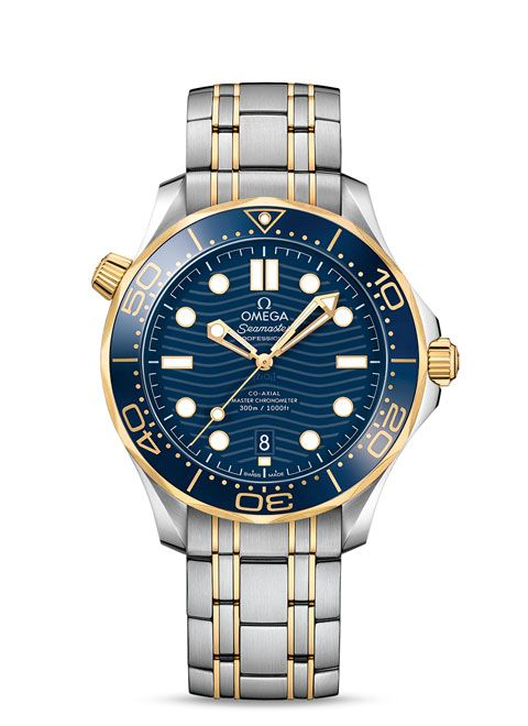 Seamaster 300米潜水表 欧米茄同轴?至臻天文台表42毫米 - 210.20.42.20.03.001