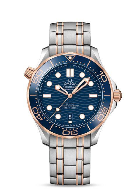 Seamaster 300米潜水表 欧米茄同轴?至臻天文台表42毫米 - 210.20.42.20.03.002
