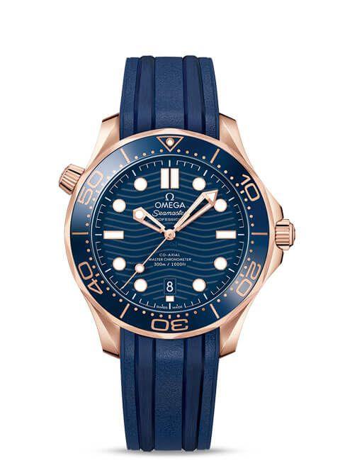 Seamaster 300米潜水表 欧米茄同轴?至臻天文台表42毫米 - 210.62.42.20.03.001