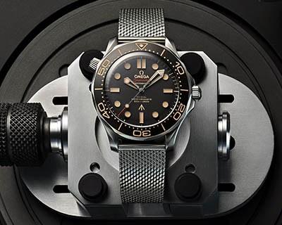 欧米茄隆重推出全新詹姆斯·邦德腕表