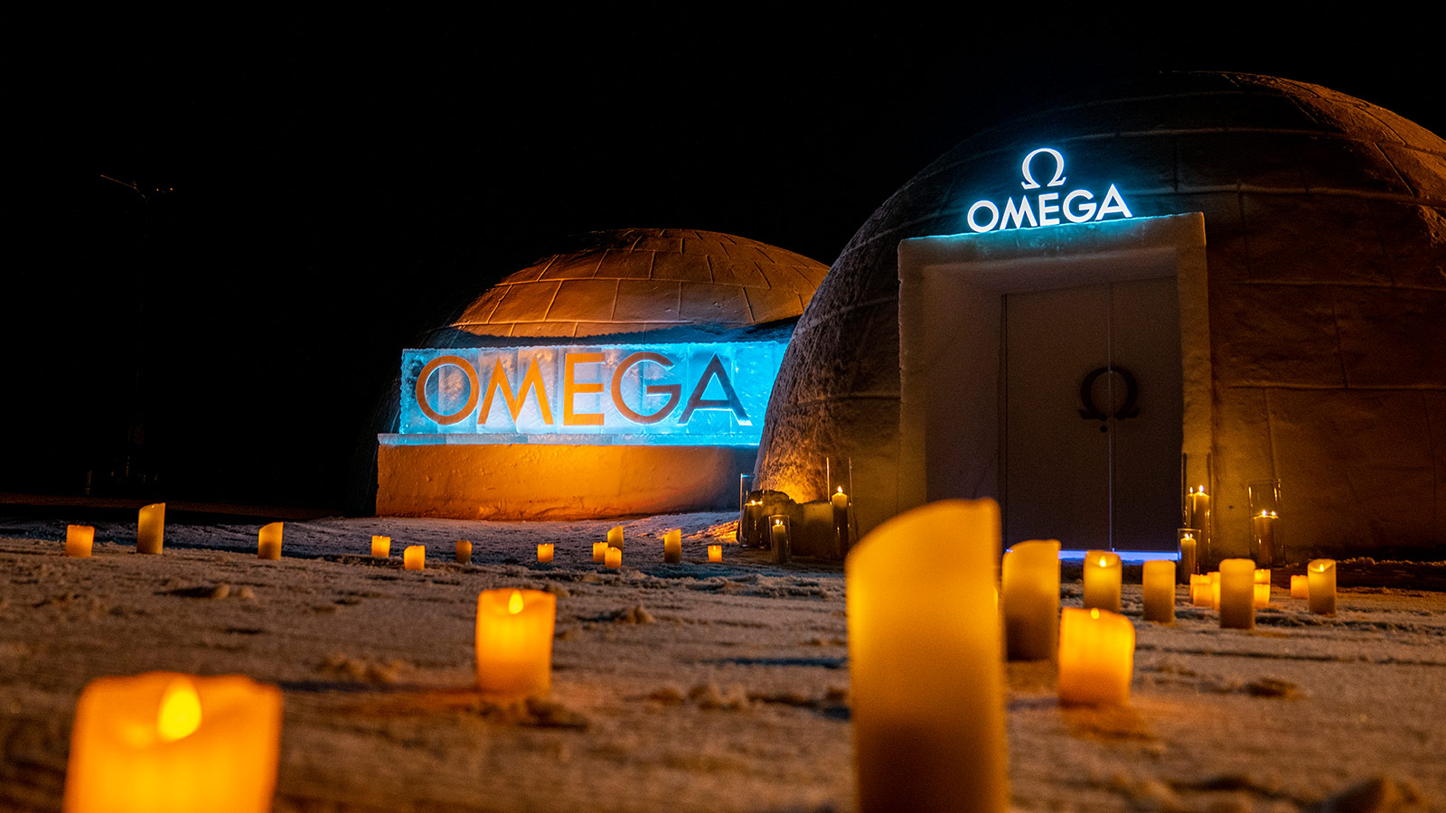 欧米茄携群星体验奥林匹克有舵雪橇的速度与激情  - 单个 - 85618