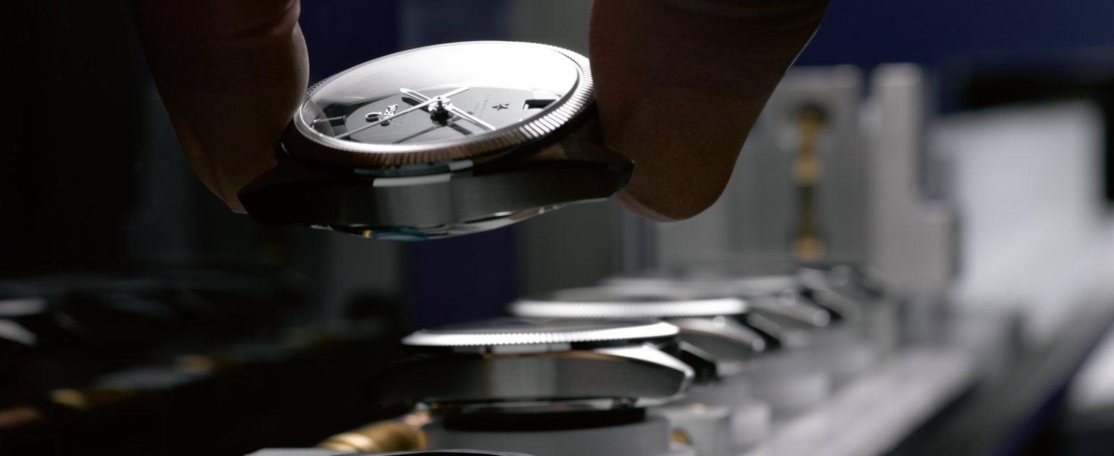 欧米茄产品系列: 星座系列 - 尊霸腕表 - 前所未有的检测认证