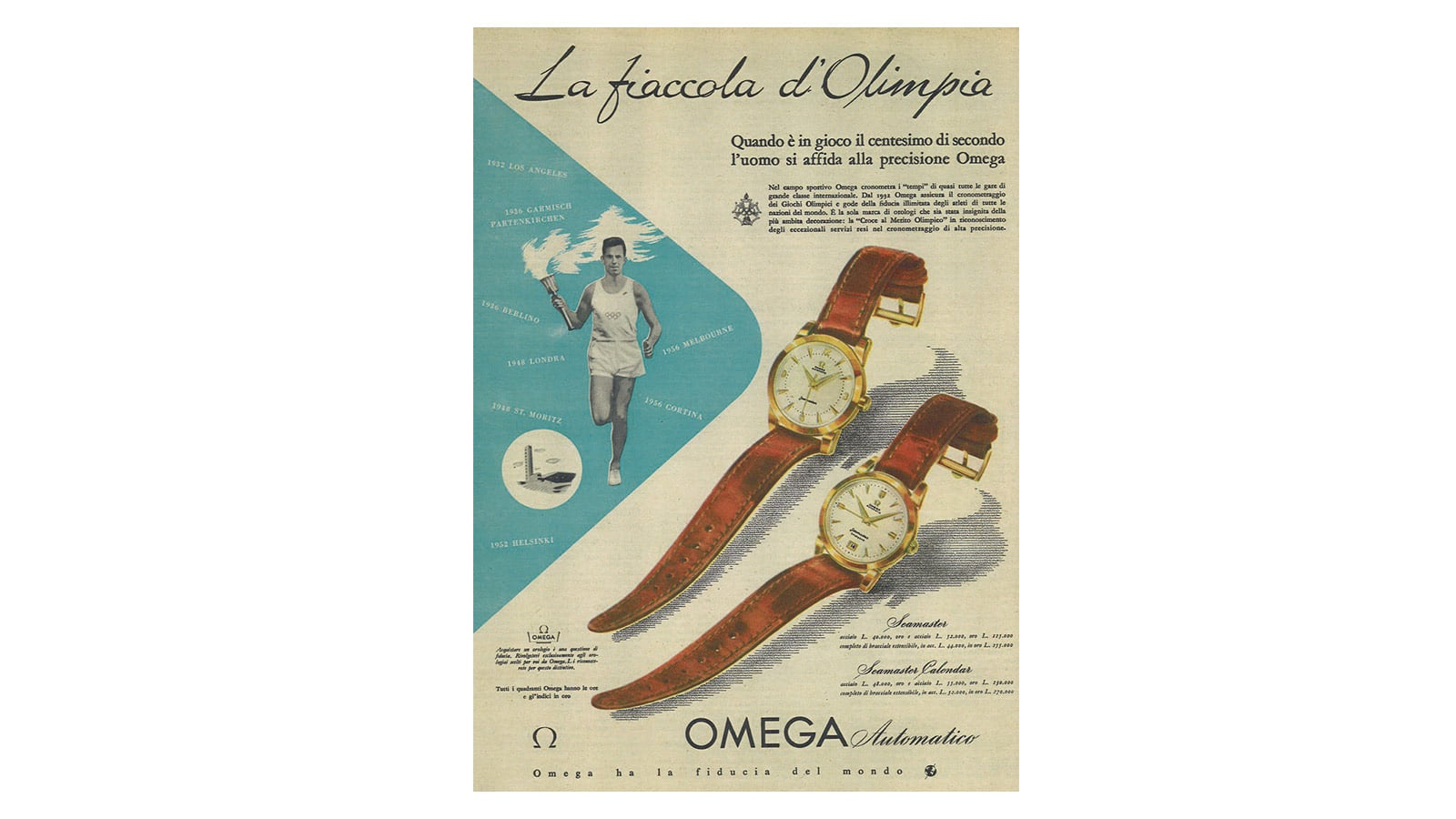 欧米茄腕表: 奥运会 - 滑动 5 - 5416