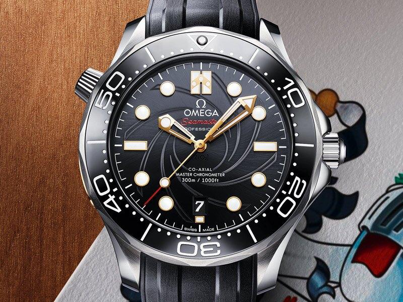 """海马系列300米潜水表""""詹姆斯·邦德""""限量版"""