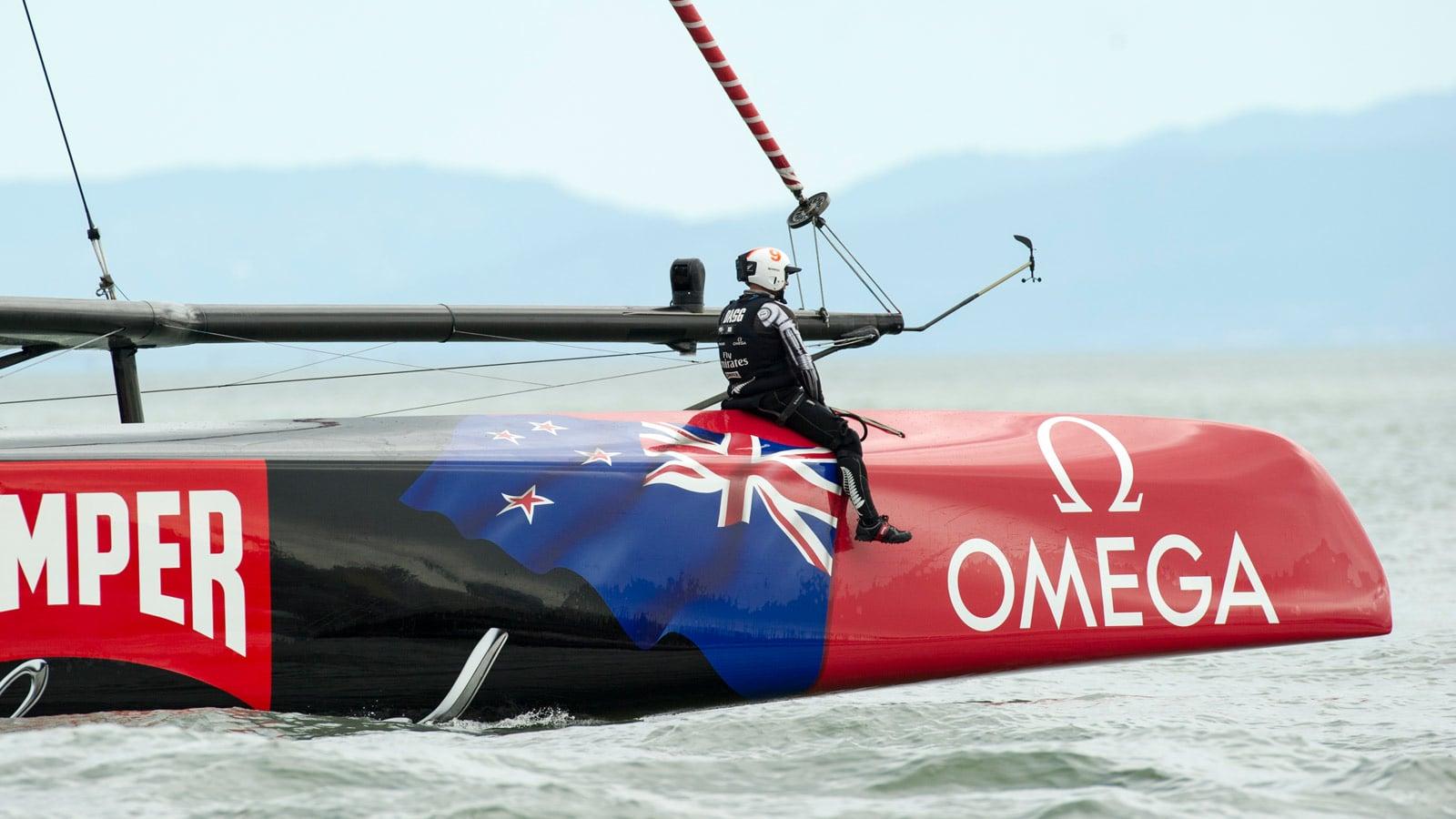 """欧米茄""""新西兰酋长队""""限量版: Seamaster - 300米潜水表 - 滑动 3 - 19023"""