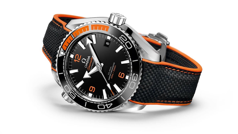 欧米茄海马系列海洋宇宙600米腕表
