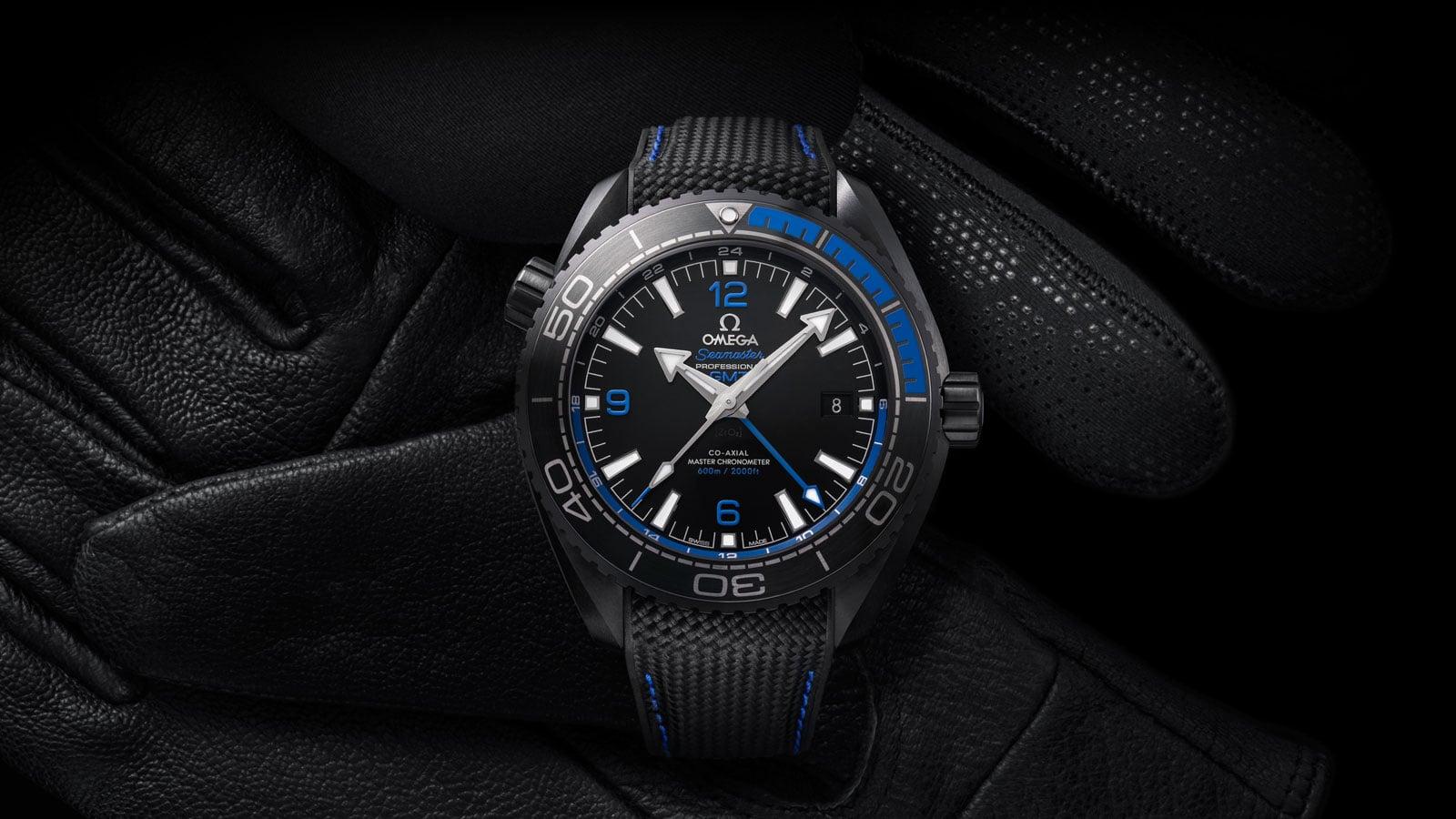 """欧米茄海洋宇宙""""深海之黑""""腕表: Seamaster - 海洋宇宙600米腕表 - 滑动 2 - 40164"""