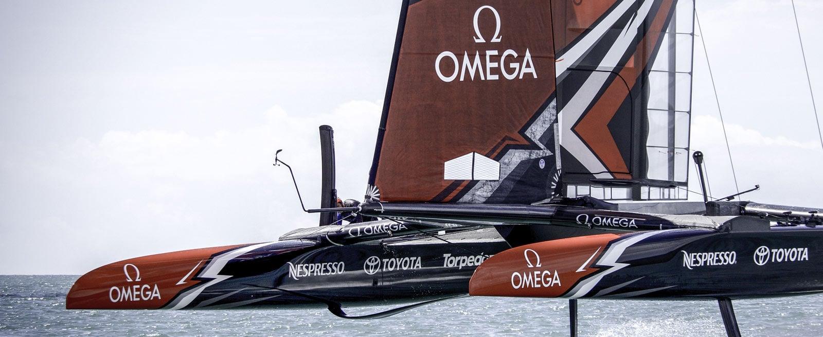 """欧米茄超霸系列: 超霸系列x-33""""帆船赛""""腕表 - 帆船"""